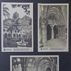 Postales: LOTE DE 3 POSTALES DE TARRAGONA MONUMENTAL. SIN CIRCULAR. Lote 58581956