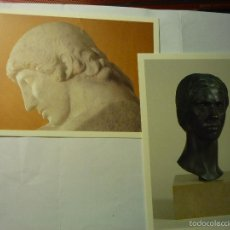 Postales: LOTE POSTALES ARTE TARRAGONA -ESCULTOR JULIO ANTONIO ,MORA DE EBRO. Lote 177627120