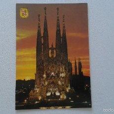 Postales: BARCELONA -- SAGRADA FAMILIA --. Lote 58831271