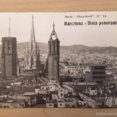 Postales: POSTAL BARCELONA - VISTA PANORÁMICA. Lote 58941475
