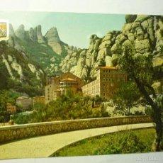 Postales: POSTAL MONTSERRAT-MONASTERIO CIRCULADA--CM. Lote 58984065
