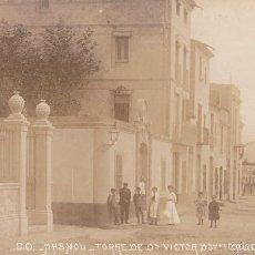 Postales: MASNOU. TORRE DE VICTOR DOTTI, CALLE DE SAN AGUSTIN. FOTOGRÁFICA. SIN CIRCULAR. . Lote 59109285