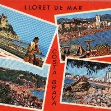 Postales: VESIV POSTAL LLORET DE MAR. Lote 59161335