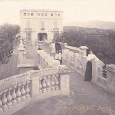 Postales: MASNOU. JENOVÉ. RIU FLORIT. EDICIÓN C. ORTA. CIRCULADA EN 1913. FOTOGRÁFICA. . Lote 59476349