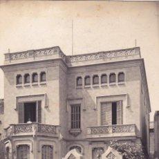 Postales: MASNOU. TORRE DE JOSÉ CARRERAS. EDICIÓN C. ORTA. CIRCULADA 1914. FOTOGRÁFICA.. Lote 59476804