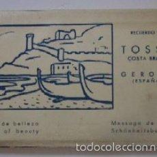 Postales: BLOC 10 POSTALES FOTOGRAFICAS DE TOSSA DE MAR. Lote 59510743