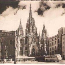 Postales: BARCELONA , LA CATEDRAL, ZERKOWITZ, CIRCULADA CON SU SELLO. Lote 59704675
