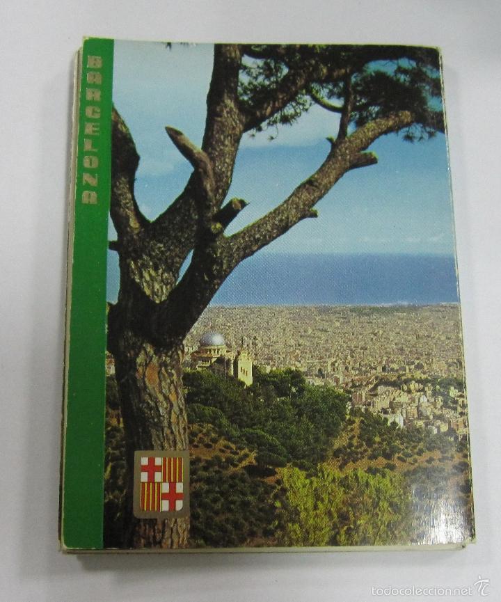 BLOCK DE 12 POSTALES. BARCELONA. EDICIONES FISA. ESCUDO DE ORO (Postales - España - Cataluña Antigua (hasta 1939))