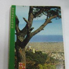Postales: BLOCK DE 12 POSTALES. BARCELONA. EDICIONES FISA. ESCUDO DE ORO. Lote 59961715