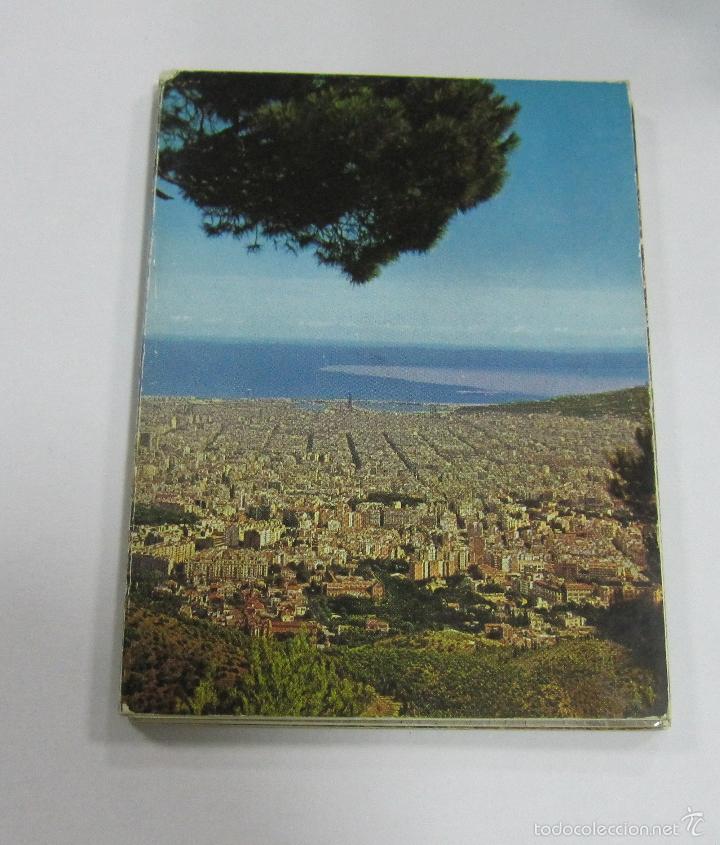 Postales: BLOCK DE 12 POSTALES. BARCELONA. EDICIONES FISA. ESCUDO DE ORO - Foto 2 - 59961715