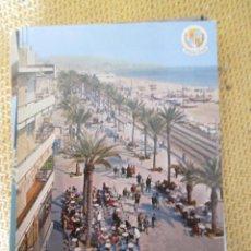 Postales: BADALONA - 25 AVENIDA DEL CAUDILLO (RAMBLA) 1974. Lote 60280219