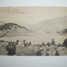 Postales: FOTO POSTAL DE LA REPÚBLICA DE ANDORRA.ESTANY DE ANGULASTÉS.JOSE CLAVEROL- SEO DE URGEL-SEU D'URGELL. Lote 61022863