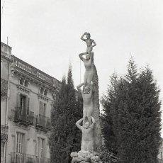 Postales: NEGATIVO ESPAÑA BARCELONA VILAFRANCA DEL PENEDÈS ALS CASTELLERS 1973 ILFORD 35MM PHOTO FOTO. Lote 61061547