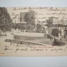 Postales: FOTO, POSTAL TARRAGONA- PASÉO DE PI Y MARGALL. P.Z. 10662. CIRCULADA 1905. Lote 61142955