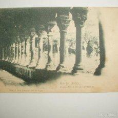 Postales: FOTO, POSTAL CLAUSTROS DE LA CATEDRAL. LA SEO DE URGEL. SEU D'URGELL. JOSE CLAVEROL Nº4. Lote 61143235