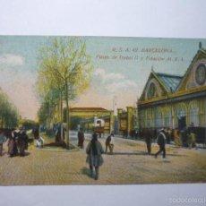 Postales: POSTAL BARCELONA - PASEO ISABEL II ESTACION MZA --BB. Lote 61160571