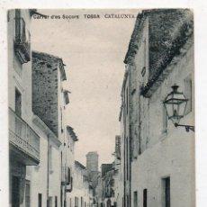 Postales: TOSSA. CARRER D´ES SOCORS. CATALUNYA.. Lote 61202947