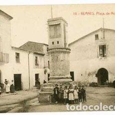 Postales: GIRONA BLANES PLAÇA DE MOLLET . FOTOTIPIA THOMAS. SIN CIRCULAR. Lote 61430867