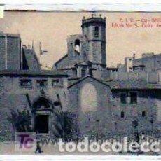 Postales: ATV 120. BARCELONA. IGLESIA DE SAN PEDRO DE LAS PUELLAS. ANGEL TOLDRA. CIRCULADA.. Lote 61451183