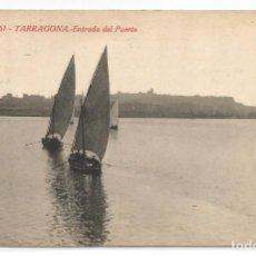 Postales: TARRAGONA .- ENTRADA AL PUERTO Nº 61 .- FOTO L. ROISIN. Lote 61532748