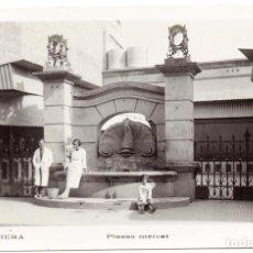 Postales: PS6829 PIERA 'PLASSA MERCAT'. POSTAL FOTOGRÁFICA. CIRCULADA. 1943. Lote 61552440