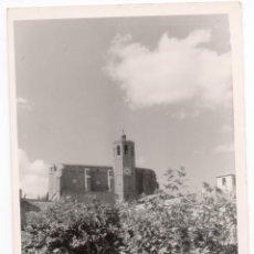 Postales: PS6832 BALAGUER 'SANTA MARÍA VISTA DESDE PLAZA MERCADAL'. CALAFELL. CIRCULADA. 1958. Lote 61719532
