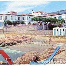 Postales: TARRAGONA ALCANAR PLAYA HOTEL BIARRITZ AÑOS 60. SIN CIRCULAR. Lote 61851808