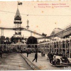 Postales: PS6914 BARCELONA 'SATURNO PARQUE'. L. ROISIN. CIRCULADA. 1914. Lote 61971176
