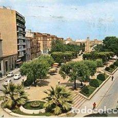 Postales: BARCELONA TARRASA PASEO CONDE DE EGARA Y MUTUA DE SEGUROS. ED. PERGAMINO. CIRCULADA. Lote 62011044
