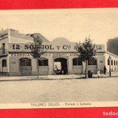 Postales: BARCELONA. TALLERES SOUJOL. Lote 62107532