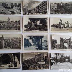 Postales: LOTE DE 35 ANTIGUAS POSTALES DE BARCELONA. Lote 62170416