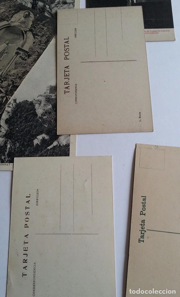 Postales: lote de 35 antiguas postales del monasterio de MONTSERRAT y alrededores - Foto 11 - 62170676