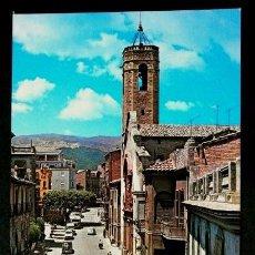 Postales: POBLA DE SEGUR (LLEIDA) (AÑOS 60) AV. SAN MIGUEL PUY -ED. GARCIA GARRABELLA - POSTAL NO CIRCULADA. Lote 62217576