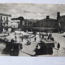 Postales: TARJETA POSTAL, SAN BAUDILIO DE LLOBREGAT. SANT BOI. NUEVA PLAZA DEL AYUNTAMIENTO 1959. Lote 62418444
