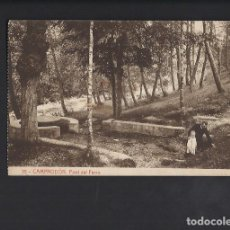 Postales: CAMPRODÓN. FONT DEL FERRO. . Lote 62605804