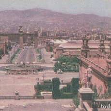 Postales: POSTAL BARCELONA. VISTA DESE EL PALAIO NACIONAL. MAYFE 67. Lote 62696740