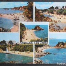 "Cartes Postales: (45318)POSTAL SIN CIRCULAR,""CONDADO DE SAN JORGE"" (COSTA BRAVA),CASTELL-PLATJA D'ARO,GIRONA,CATALUÑA. Lote 62761120"