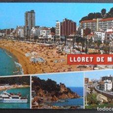 Cartes Postales: (45330)POSTAL ESCRITA,VARIAS VISTAS DEL MUNICIPIO,LLORET DE MAR,GIRONA,CATALUÑA. Lote 62761464