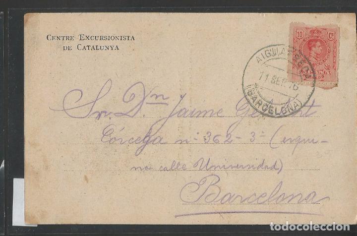 Postales: XALET ULL DE TER - CAMPRODON - CENTRE EXCURSIOONISTA - POSTAL - VER REVERSO SIN DIVIDIR - (44.823) - Foto 2 - 62986040