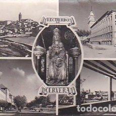 Postales: POSTAL CERVERA RECUERDO DE CERVERA VARIAS IMAGENES FOTO RAYMOND . Lote 62994720