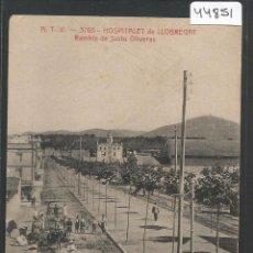 Postales: HOSPITALET DE LLOBREGAT - ATV 3765 - RAMBLA DE JUSTO OLIVERAS -VER REVERSO-(44.851). Lote 63103932
