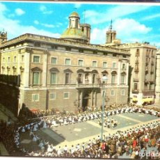 Postales: 1169 BARCELONA PLAZA DE SAN JAIME JAUME 1963 DIPUTACION PROVINCIAL SARDANA LAMINOGRAF NO ESCRITA . Lote 63142108