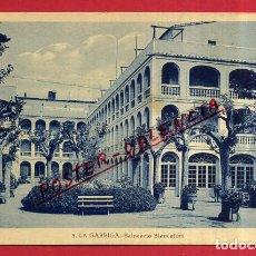 Postales: POSTAL LA GARRIGA, BARCELONA, BALNEARIO BLANCAFORT, P84138. Lote 63246992