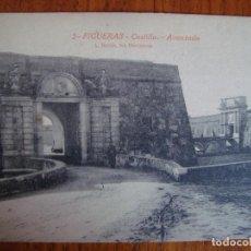 Postales: GIRONA. FIGUERAS. CASTILLO. AVANZADA. L. ROISIN. VER REVERSO.. Lote 63490008