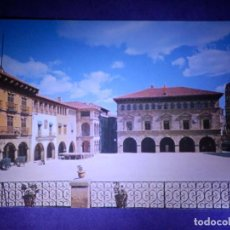 Postales: POSTAL - ESPAÑA - BARCELONA - 3.- PUEBLO ESPAÑOL - PLAZA MAYOR AYUNTAMIENTOS - 1960 . Lote 63717127