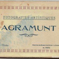 Postales: PS4765 DESPLEGABLE DE AGRAMUNT - FOTOGRAFIES ARTISTIQUES - 15 VISTAS - LIB. PERA. Lote 44632116