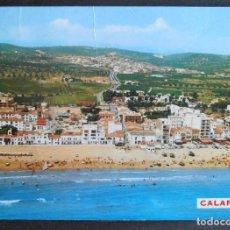 Postales: (45804)POSTAL ESCRITA,LA PLAYA,CALAFELL,TARRAGONA,CATALUÑA. Lote 64162203