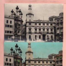 Postales: DOS POSTALES DE REUS AYUNTAMIENTO Nº 15 EDITÓ A ZERKOWITZ BARCELONA SIN CIRCULAR . Lote 64610995