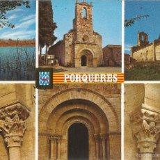 Postales: PORQUERES (GIRONA) DIVERSOS ASPECTOS - ESCUDO DE ORO Nº 1 - S/C. Lote 64729859