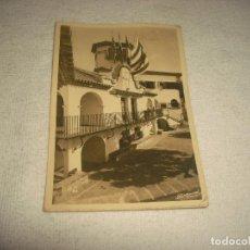 Postales: S'AGARO . COSTA BRAVA . HOSTAL DE LA GAVINA : DETALL DE FAÇANA PONENT . ZERKOWITZ. Lote 65855450